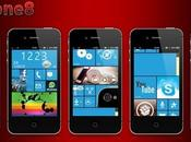 iWphone8 transforme votre iPhone Windows Phone 8...
