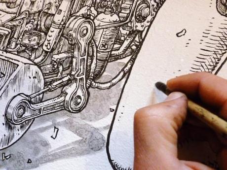 STREET ART – Liqen et le détail