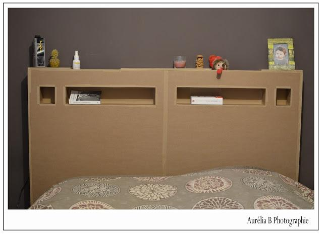 diy t te de lit en carton d couvrir. Black Bedroom Furniture Sets. Home Design Ideas