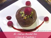 Mi-Cuit Chocolat Noir Coeur Framboise