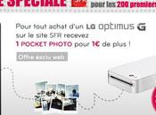 Offre spéciale Optimus pocket photo