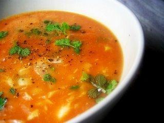 Soupe De Poisson A La Tomate A Decouvrir