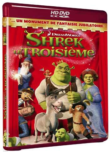 Test Hd-dvd Shrek 3