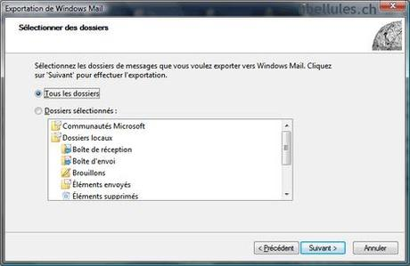 WMUtil - Réparer Windows Mail