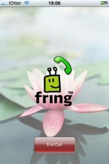 fring iphone 4