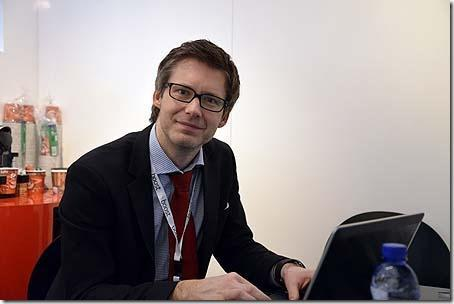 Oystein R. Skiri, CEO and co-founder of Boost Communications