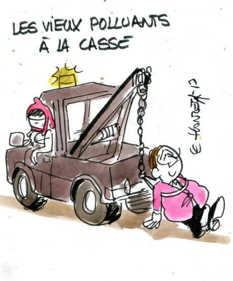 L'État crache sur l'automobile puis se plaint que les Français n'en achètent plus