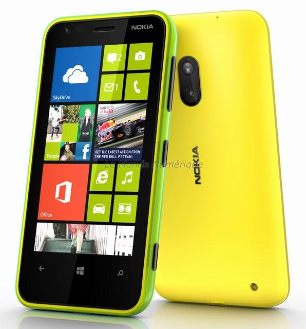 Test du smartphone Nokia Lumia 620 sous Windows Phone 8