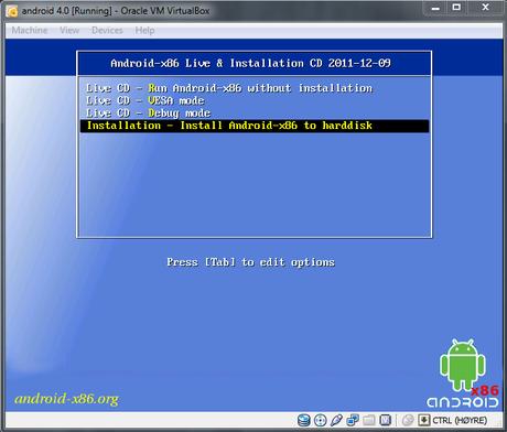 Android X86 - La version 4.2 est disponible!
