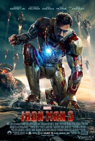 [News] Iron Man 3 : un nouveau trailer explosif !