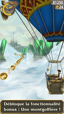 Temple Run Oz disponible sur iPhone...