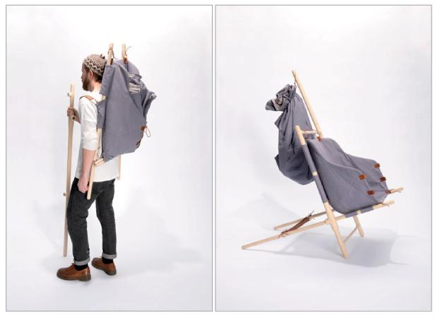 1 The Nordic Nomad Chair  by Bjarke Frederiksen on charliestine.net