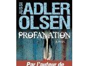 Profanation Jussi Adler-Olsen