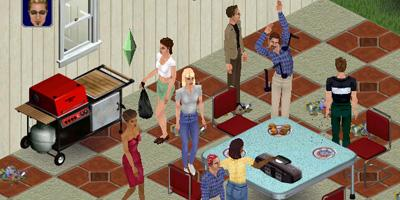 The Sims. 2000. Will Wright for Maxis, now part of Electronic Arts, Inc