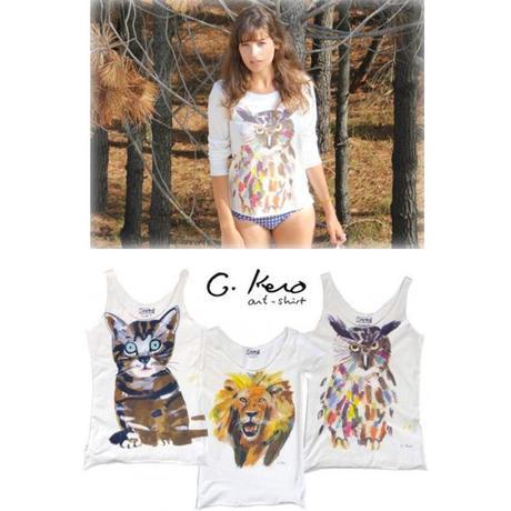 Gkero-Art-shirt tee shirt hibout M