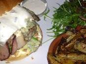Barré Bleu Burger supplément bacon