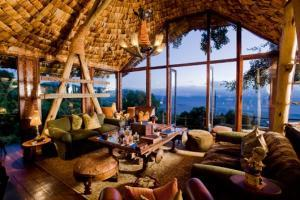 Visite déco, Ngorongoro Crater Lodge
