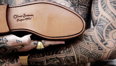 Tatouer vos chaussures Oliver Sweeney !
