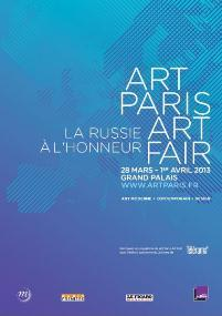 Art Paris Art Fair au Grand Palais du 28 mars au 2 avril : La Russie est à l'honneur