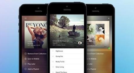 Rdio, la musique en streaming sur iPhone se refait une beauté...