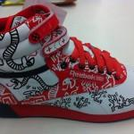 Keith Haring x Reebok Freestyle Hi