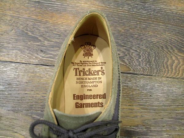 TRICKER'S FOR ENGINEERED GARMENTS – S/S 2013 – TWO TONE DERBY BROGUE