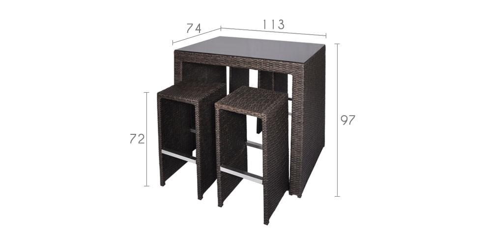 vente priv e num ro 54 le bar d 39 ext rieur paradise voir. Black Bedroom Furniture Sets. Home Design Ideas