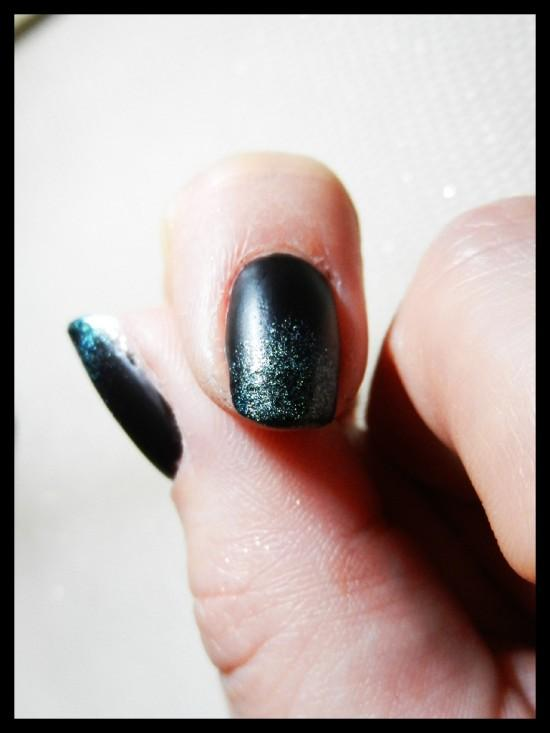 Nail art: Shining Mat