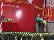 Réélue l'unanimité tête parti, Aung lance dans bataille pour Présidence Birmanie 2015
