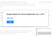 Adieu Google Reader merci