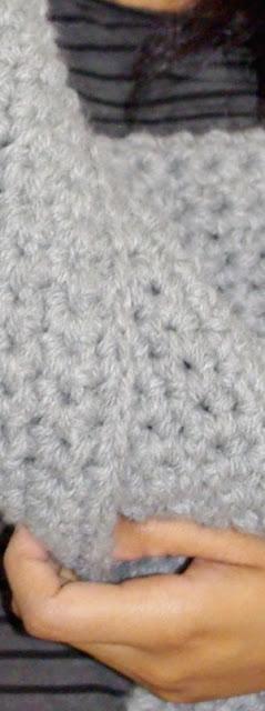 98206a577979 Echarpe géante au crochet - Paperblog