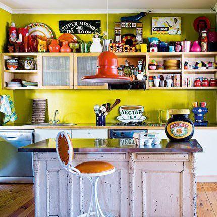 decoration-en-couelur-cuisine-verte