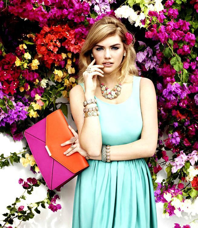 Kate Upton et la belle collection Accessorize printemps