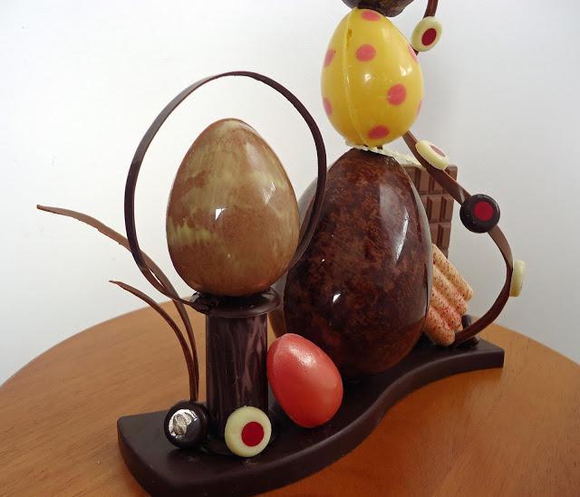 piece en chocolat paques