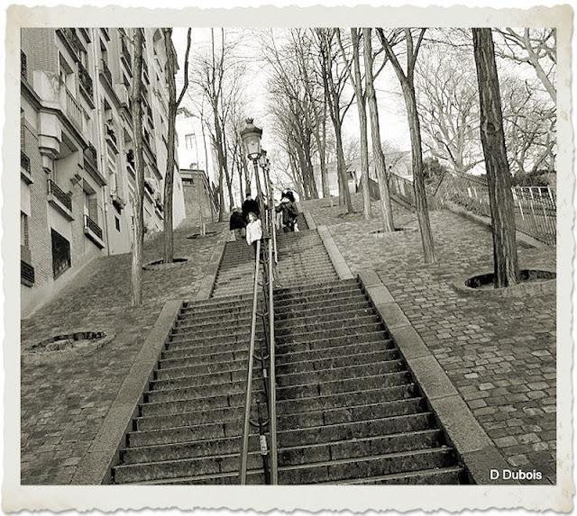 Montmartre les escaliers Paris | À Voir