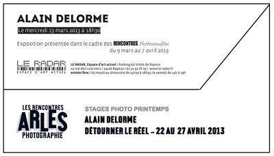 Les clichés saturés d'Alain Delorme en ballade à Bayeux