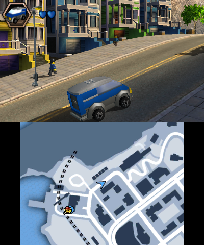 Nintendo annonce LEGO CITY Undercover: The Chase Begins sur 3DS !‏