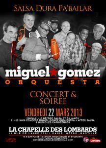 miguel gomez- concert salsa Paris- Salsanewz