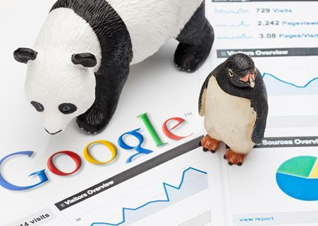 Google a annoncée la mise à jour de ses deux animaux blanc et noir.