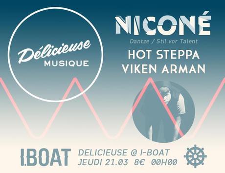 Délicieuse Musique invite Niconé à l'IBoat Bordeaux