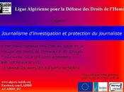 MDHC Tizi-Ouzou: Formation «Journalisme d'investigation protection journaliste»