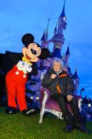 Louis Bertignac à Disneyland Paris avec Mickey