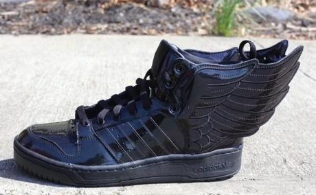 Jeremy Scott x adidas Originals JS Wings 2.0 Black Patent