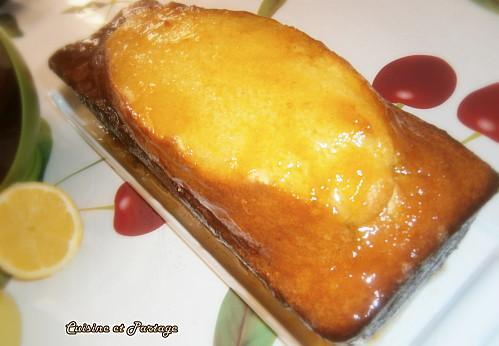 Cake Au Citron Facile Glaçage Confiture De Mirabelles Paperblog