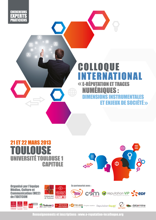 Premier colloque sur l'e-repuation à Toulouse.
