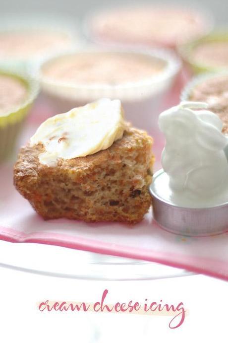 Mini Carrot Cake (sans matière grasse / fat-free)