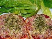Tartines façon pizza (ww)