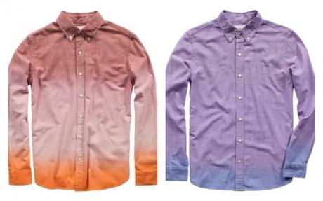 Les chemises en chambray avec leurs 2 teintes, pour une originalité plus mesurée (140€)