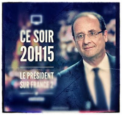 Hollande et le changement qu'il fallait voir