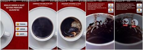 Coup de coeur : Cafédomancie 2.0, l'application Divin Café lit l'avenir dans le marc de café